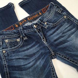 Rock Revival Jeans Camila Boot 26 Flap Pocket Stud